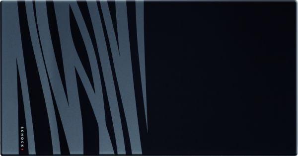 Schock-Premium Glasschneidbrett schwarz für flächenbündige Spülen
