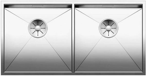 BLANCO ZEROX 400/400-IF Edelstahl Seidenglanz