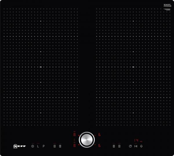 Neff TPT5660X FlexInduction, flächenbündig, TwistPad® Flat, 2 x Flexzone