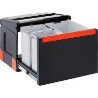 FRANKE Sorter Cube 50 Automatikauszug Abfalltrennung 3-fach Automatikauszug 1x14l 2x8l 11045 / 134.0055.293 526-11045