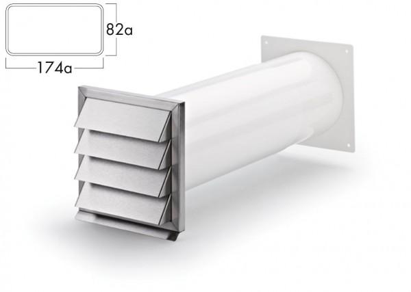 COMPAIR Klima-E 125 Mauerkasten Flachkanal