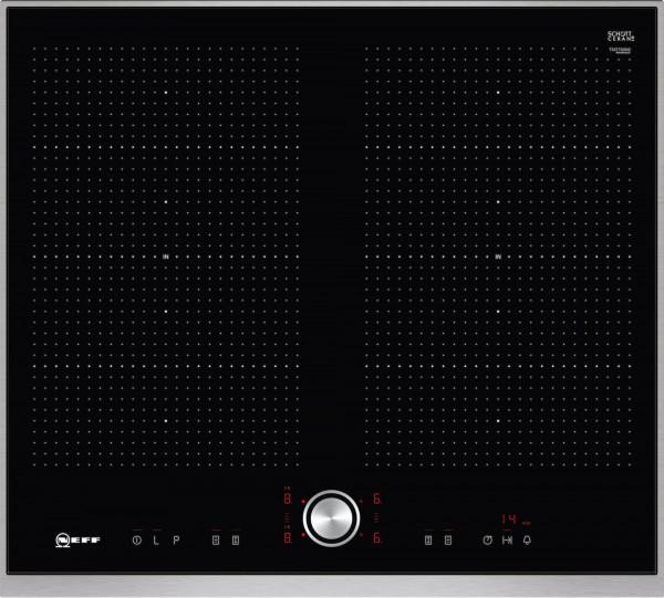 Neff TTT5660N FlexInduction, TwistPad® Flat, 2x Flexzone, 4 Induktionskochzonen, Powerstufe