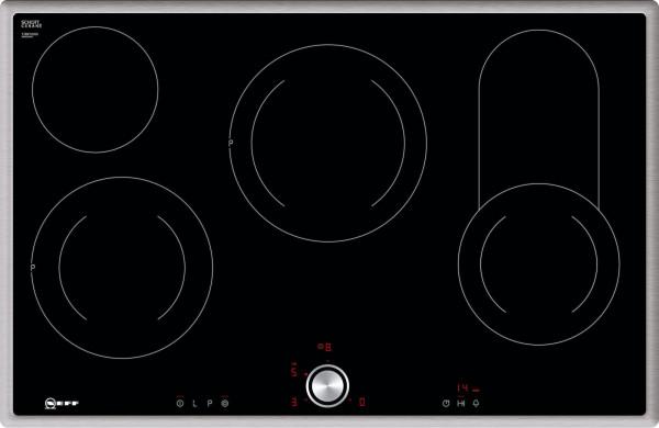 Neff TBD1836N Autarkes Elektro-Kochfeld, TouchControl, 2 Zweikreis-Kochzonen