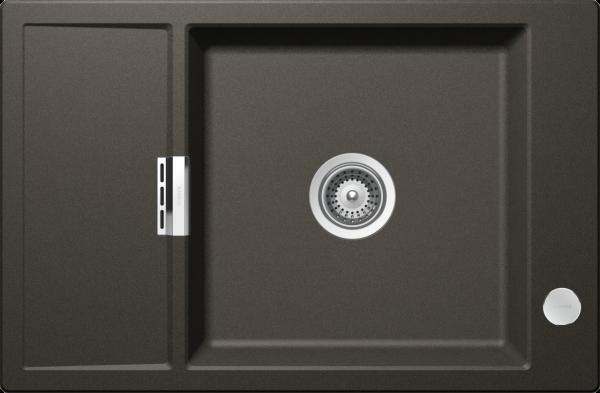 Schock - Einbauspüle Mono D 100 XS inkl Holzschneidbrett oder Gitter