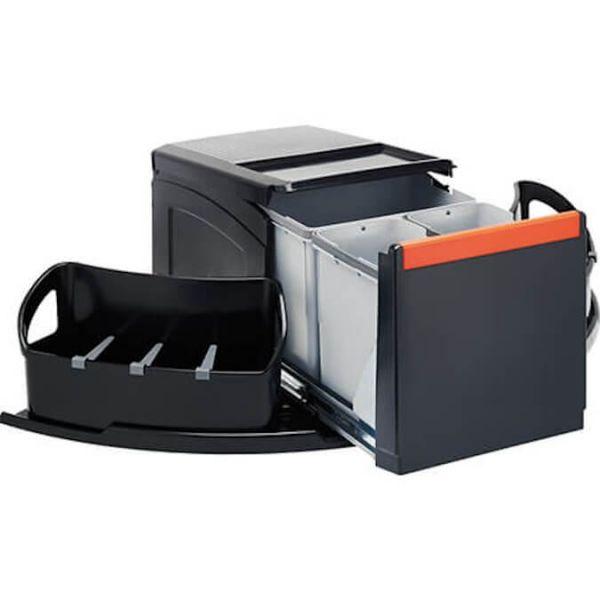 FRANKE Sorter Cube Eck Handauszug Abfalltrennung 3-fach