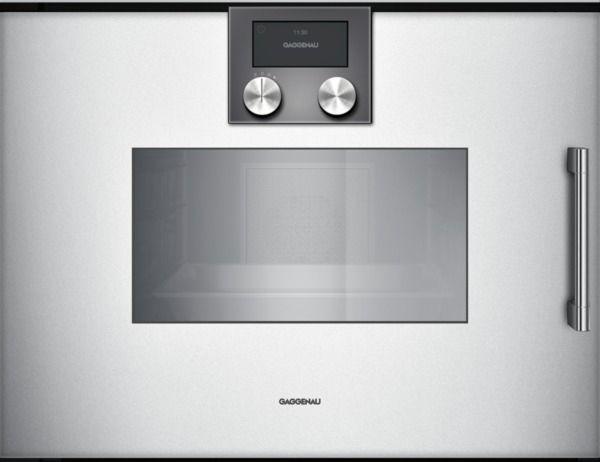 Gaggenau - Dampfbackofen BSP 250 / 251 Anthrazit, Metallic, Silber