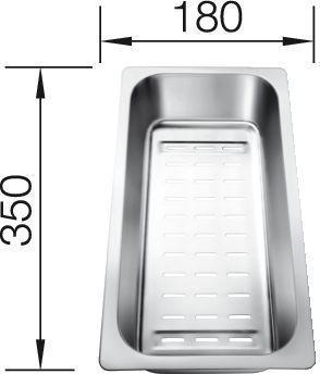 Blanco - Multifunktionsschale für Statura 220415