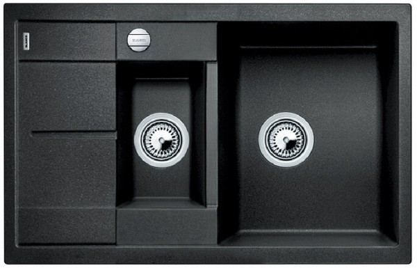 BLANCO METRA 6 S Compact Silgranit mit Ablauffernbedienung