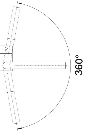 blanco blanco linus f vorfenster metallische oberfl che. Black Bedroom Furniture Sets. Home Design Ideas