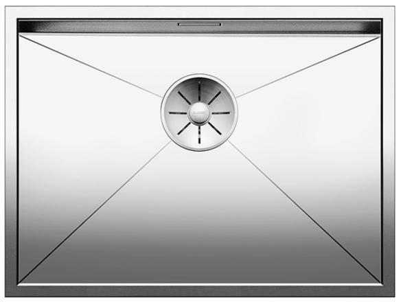 BLANCO ZEROX 550-U Edelstahl Seidenglanz