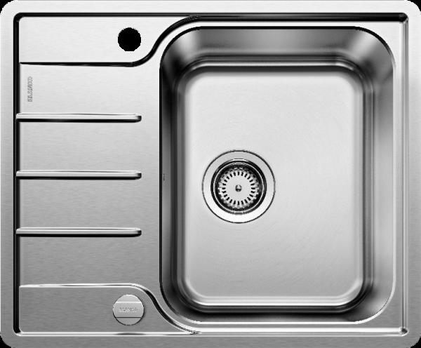 BLANCO LEMIS 45 S-IF Mini Edelstahl Bürstfinish