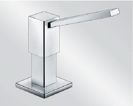 BLANCO QUADRIS Spülmittelspender Metalloberfläche