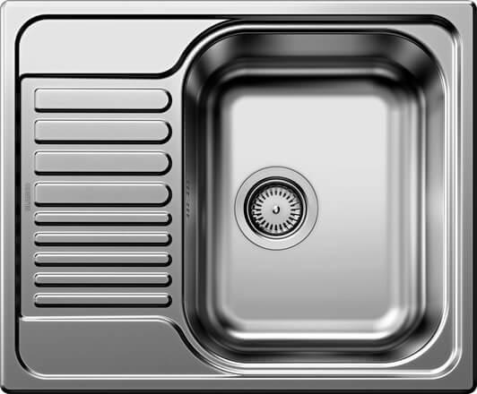 BLANCO TIPO 45 S Mini Edelstahl Naturfinish