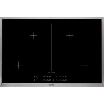 AEG - Kochstelle HK854400XB, 80 cm, 4-fach INDUKTION mit Direct-Control