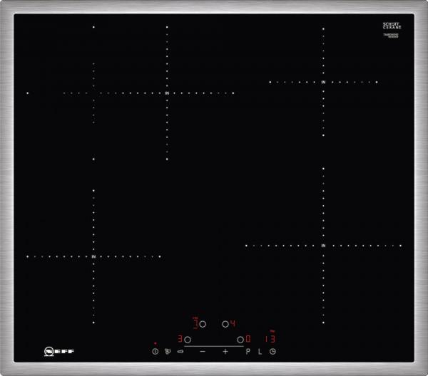 Neff TBD4660N Induktion, TouchControl, Bräterzone, 4 Induktionskochzonen
