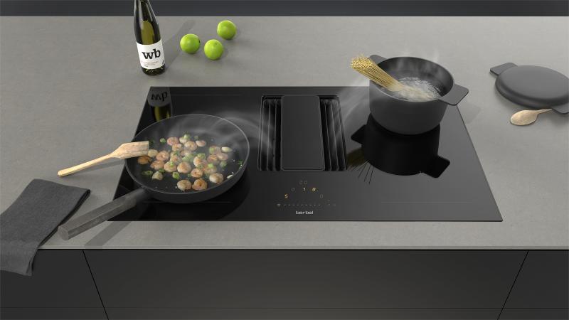 berbel berbel downline kochfeldabzug bkf 83 dl. Black Bedroom Furniture Sets. Home Design Ideas