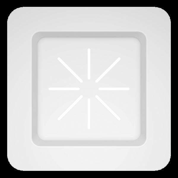 Schock - Funktionsschale weiß Kunststoff