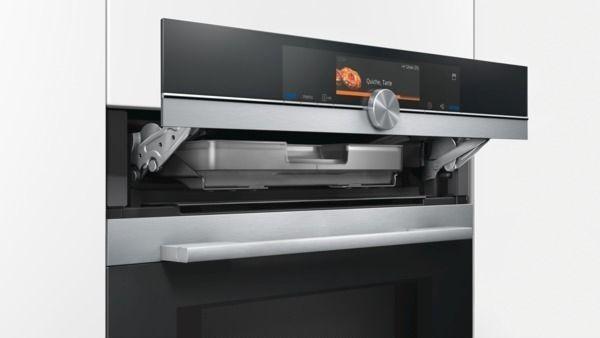 Siemens - iQ700 Mikrowellen-Backofen HN678G4S6 mit Dampfunterstützung