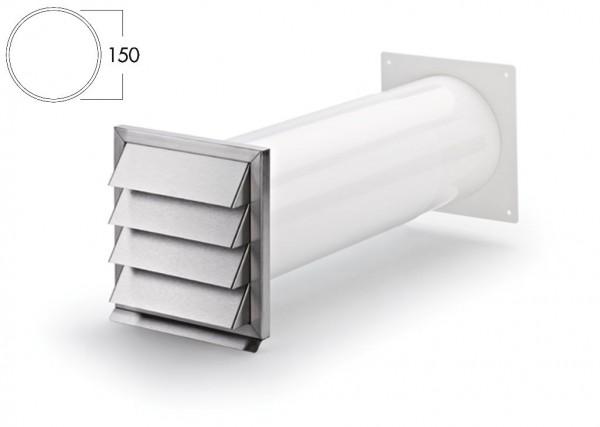 COMPAIR Klima-E 150 Mauerkasten Rundrohr-Anschluss