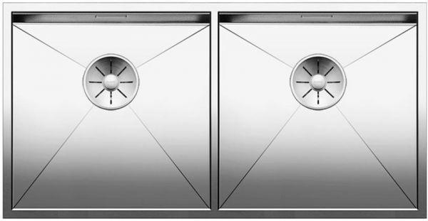 BLANCO ZEROX 400/400-U Edelstahl Seidenglanz