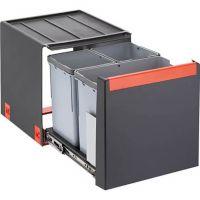 FRANKE Sorter Cube 40 Automatikauszug Abfalltrennung 3-fach Automatikauszug 1x14l+2x7l 11021 / 134.0039.331 526-11021