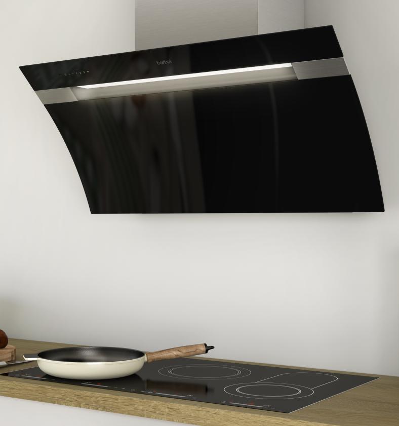 berbel berbel kopffreihaube glassline 2 110 cm bkh 110 gl 2. Black Bedroom Furniture Sets. Home Design Ideas