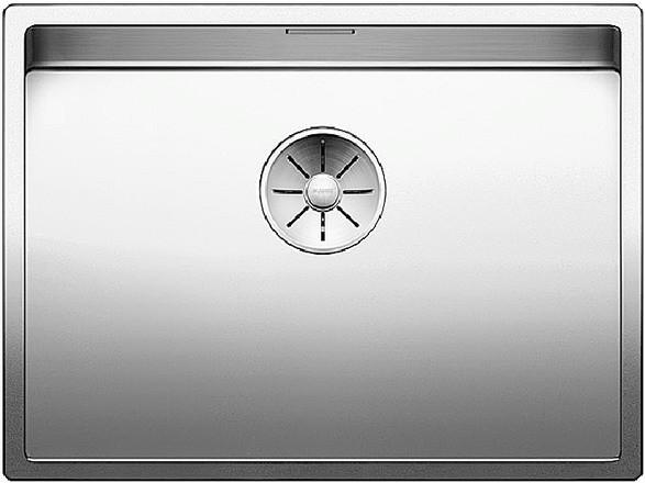 BLANCO CLARON 550-U Edelstahl Seidenglanz