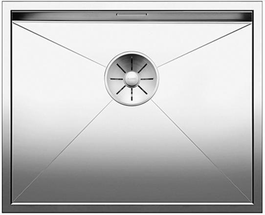BLANCO ZEROX 500-U Edelstahl Seidenglanz