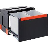 FRANKE Sorter Cube 50 Automatikauszug Abfalltrennung 2-fach Automatikauszug 1x14l 1x18l 11026 / 134.0055.292 526-11026