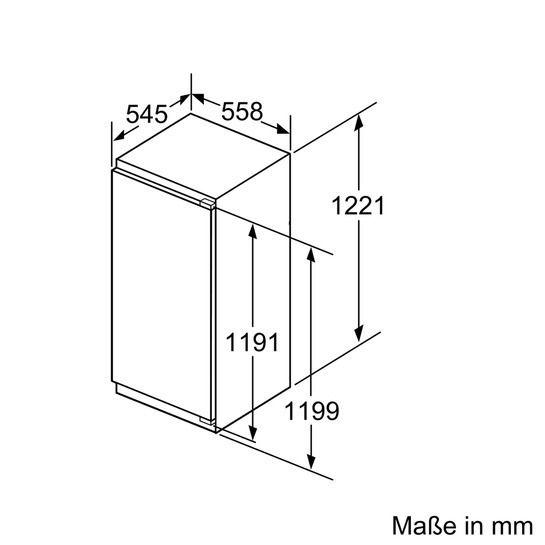 Siemens - Kühlschrank KI42LAD40 Nische 122cm, EEK: A+++