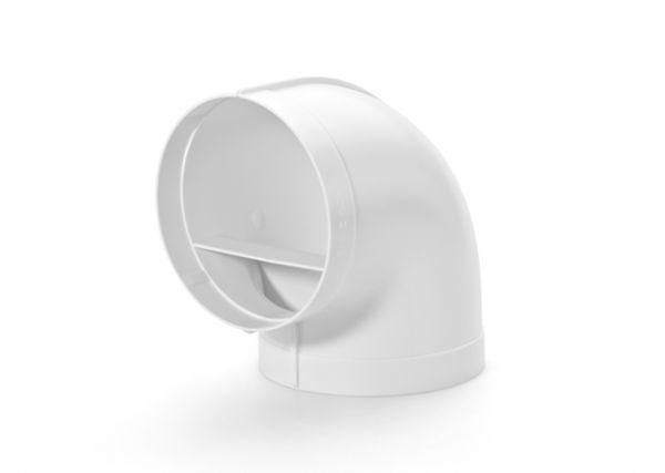 Abluft-Rohrbogen flow 90° System 125 mit Muffe