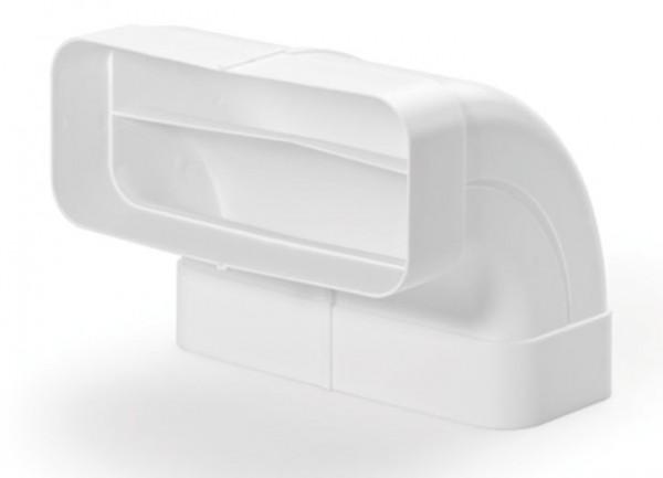 Compair® flow 150 Flachkanal Rohrbogen vertikal 90°