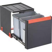 FRANKE Sorter Cube 40 Automatikauszug Abfalltrennung 2-fach Automatikauszug 2x14l 10995 / 134.0039.332 526-10995