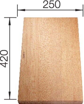 Blanco-Schneidbrett aus massiver Buche 420x250