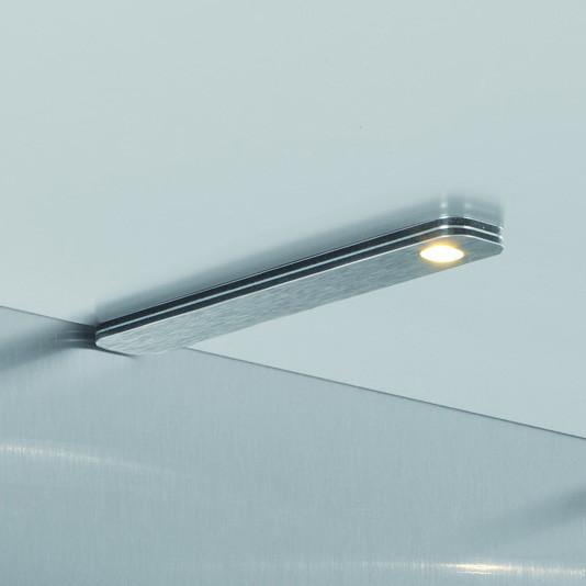 LED-Leuchten-Set Flat Aluminium