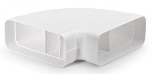 Compair® flow Flachkanal 150 Rohrbogen horizontal 90°