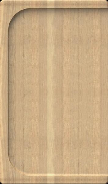 Schock - Schneidbrett aus hellem Holz