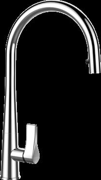 Schock - Armatur Gota Hochdruck mit Schlauchbrause
