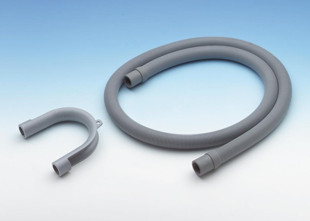 Kunststoff-Ablaufspiralschlauch