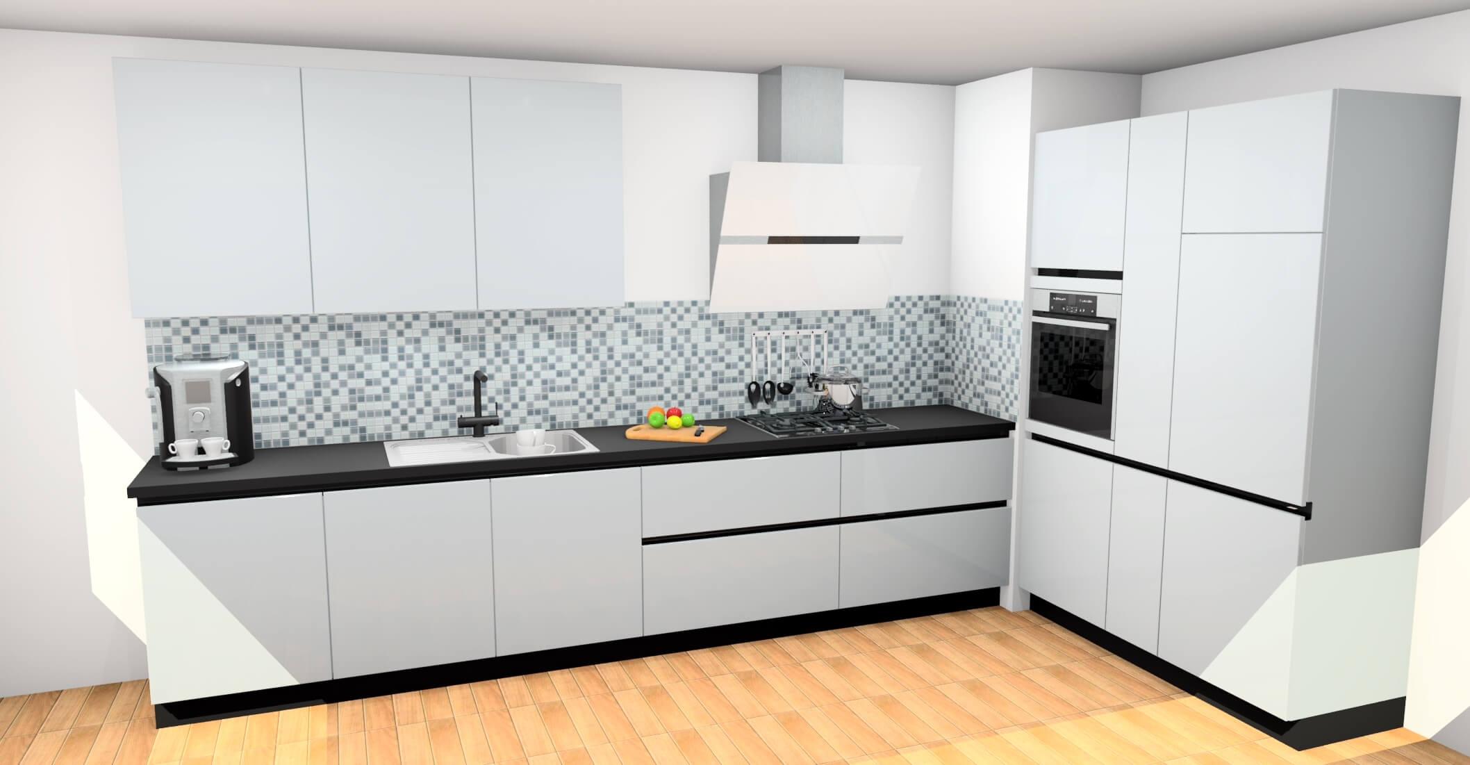 Nolte Küchen Modell Nova Lack Grifflos