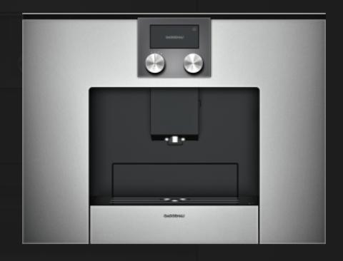 Gaggenau - Espresso-Vollautomat CMP 250110 Metallic