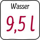 9,5 L