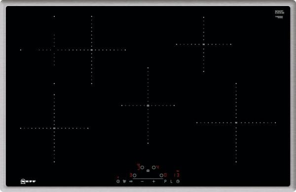 Neff TBD4800N Induktion, TouchControl, Bräterzone, 4 Induktionskochzonen, Powerstufe