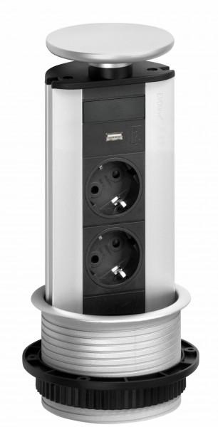 EVOline Port USB Einbau-Steckdosenelement